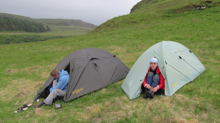 Eco camping in its purest form