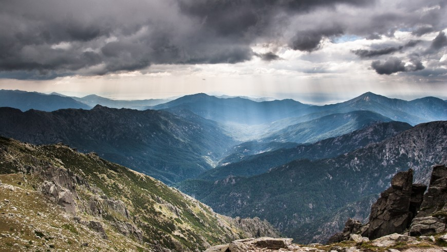 GR20, one of the most difficult hiking trail in Europe