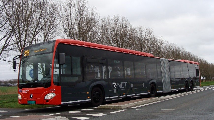 In Netherlands you can travel by electric buses