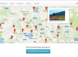 Ecobnb's Map of Itineraries - Green Travel Tips for your guests