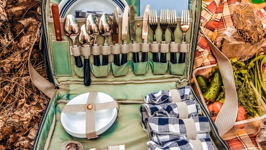 6 ideas for a green picnic in Italy