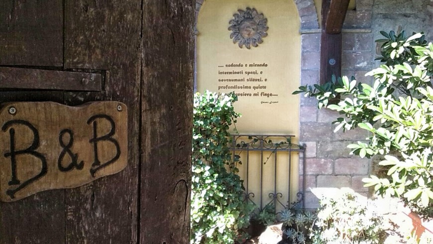 Ethical holiday in Italy at B&B Casale Il Baronetto