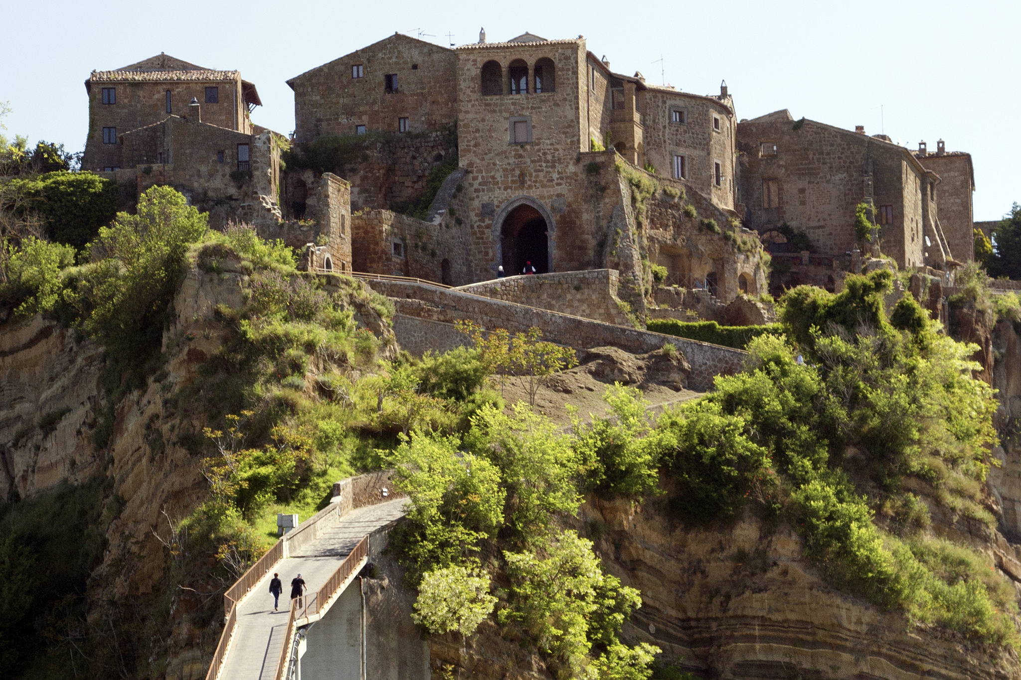 Will civita di bagnoregio become a unesco site ecobnb - Civita di bagno ...