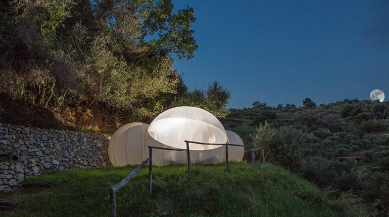 Eco-hotels under the stars