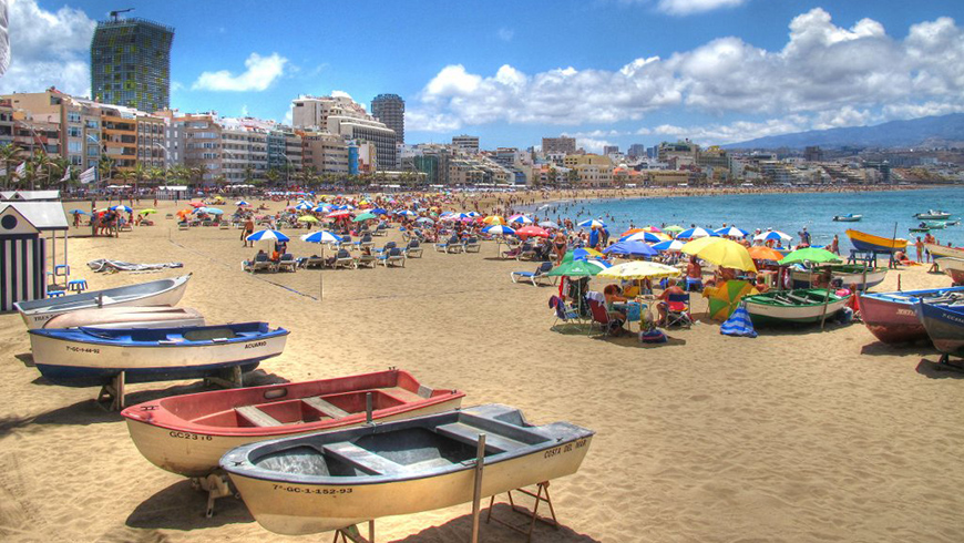 The 30 most beautiful beaches in Spain: Canteras