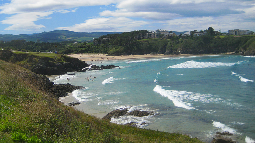 The 30 most beautiful beaches in Spain: Anguileiro