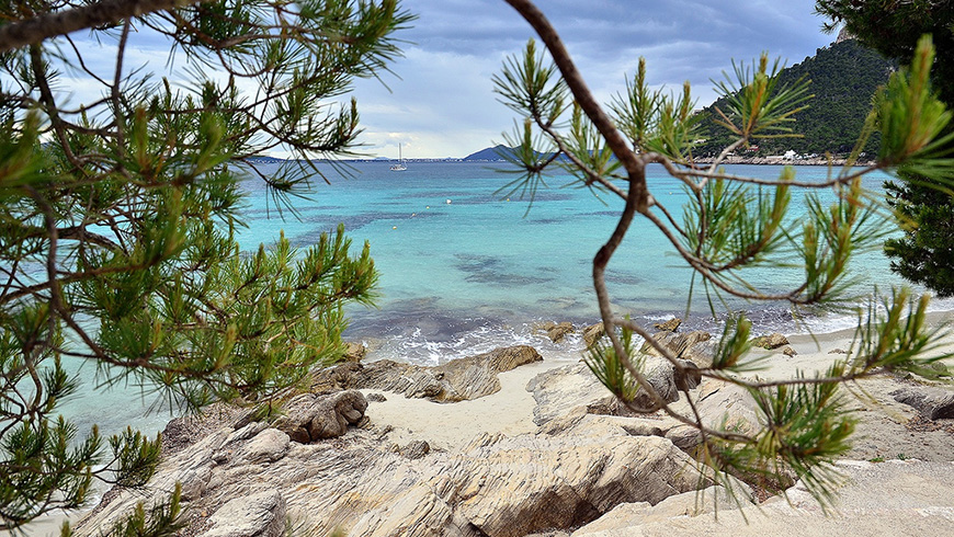 The 30 most beautiful beaches in Spain: Cala de Formentor