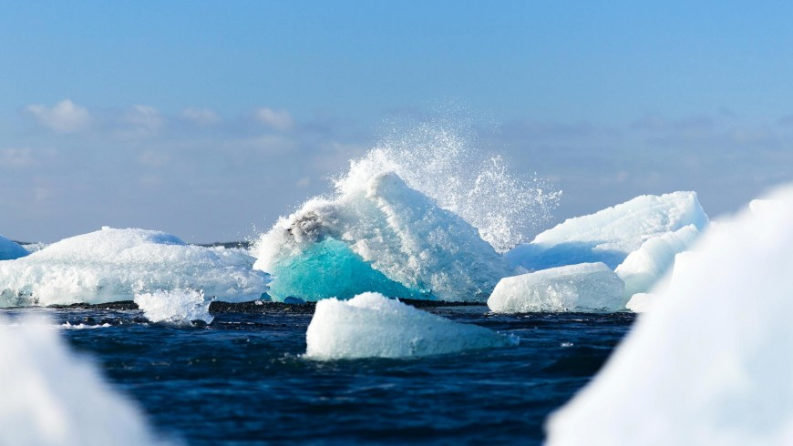 glacier, oceans and climate changes