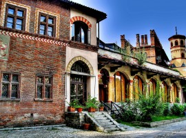 The Medieval Village of Valentino Park, Turin