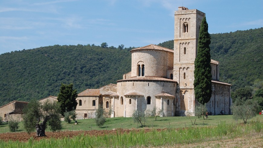 Sant'Antimo abbey, Tuscany