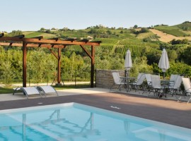 Eco-friendly farmhouse in Montalto nelle Marche, Marche region, Italy