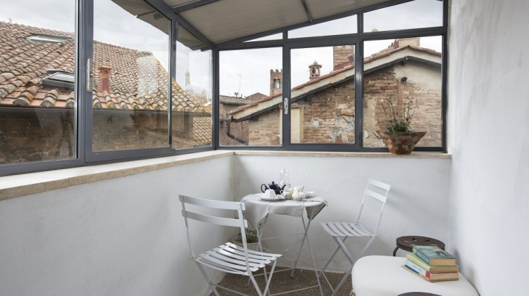 A holiday by electric car in Italy: B&B Paradiso n.4