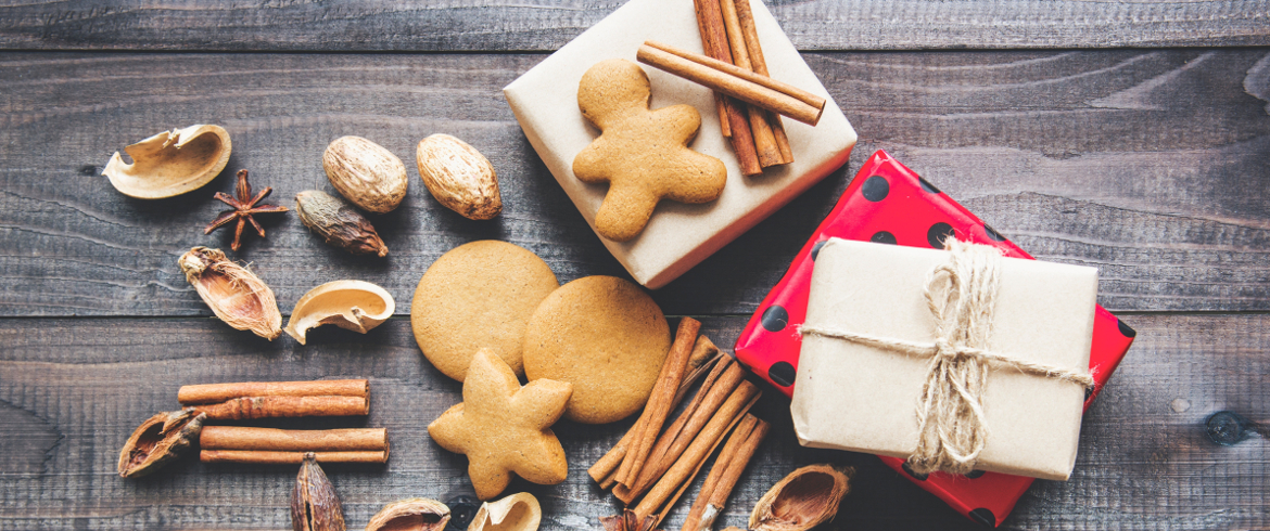 Green eco-friendly gifts for christmas