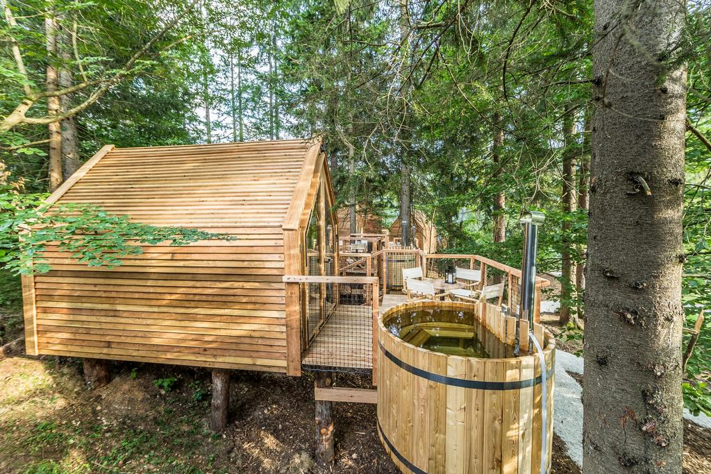 Glamping Ribno in Bled
