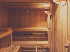 In the facility there are saunas where you can finally relax