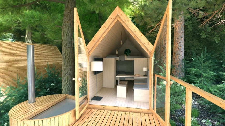 eco-glamping in Bled, Slovenia