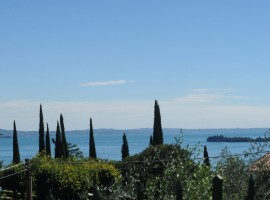 View of Lake Garda from the B&B