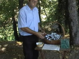 Francesco and the Self Service of the Honest, Ca' del Campanaro, home-made jams, Castel D'Aiano