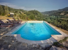 Swimming pool, Valtidone Verde, green accommodations