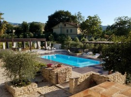 Swimming pool, Agriturismo La Curtis, green tourist facilities