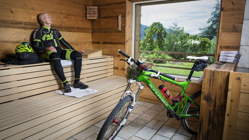 Bike and high-altitude wellness in Vigo di Fassa
