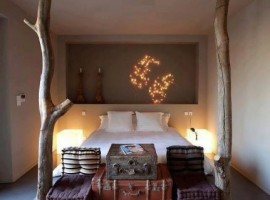 One of the rooms of the eco resort - Mortola Tower luxury eco resort