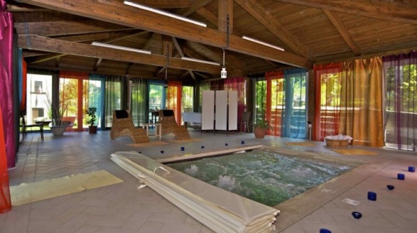 Wellness area in Tuscany