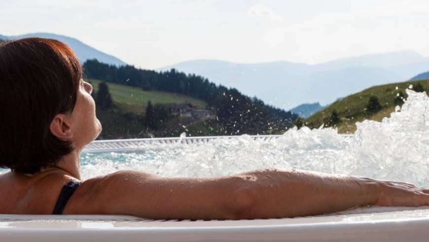 High-altitude wellness in South Tyrol