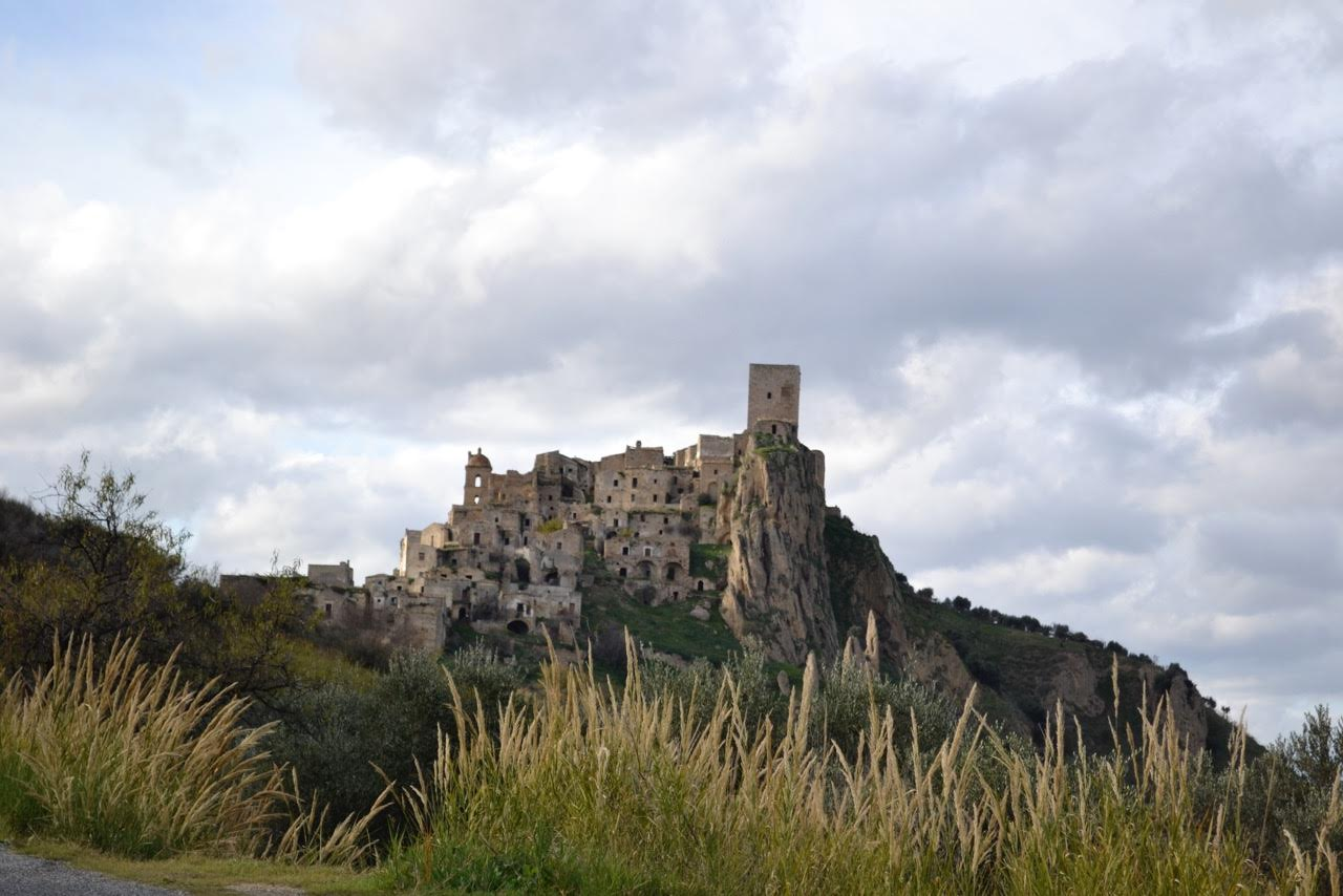 The ghost town of Craco