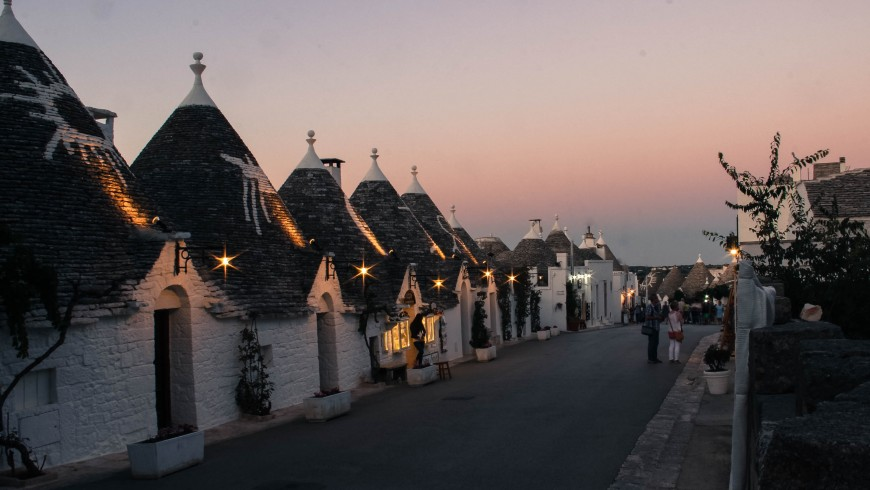 All the charm of Apulia, in the territory of Murge