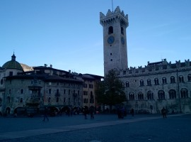 Piazza Duomo in Trento, photo by E. Trevisan