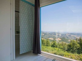 Among the pristine nature of the Abruzzo, a room with a view of the stars!