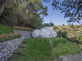 eco-glamping in Italy