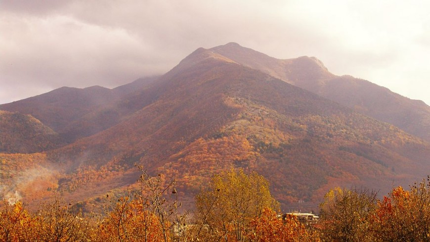 Picentini Mountains: fall-foliage in Italy