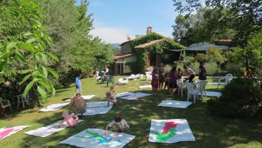 family friendly vacation in an eco-village for families in the heart of Umbria (Italy)