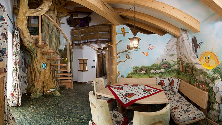 A child-friendly hotel in Val di Fassa