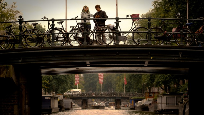 Amsterdam, Love for the bicycle