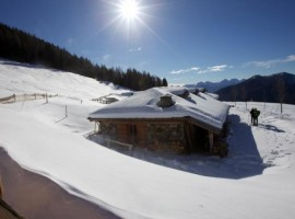 Your winter between the spectacle of Dolomites