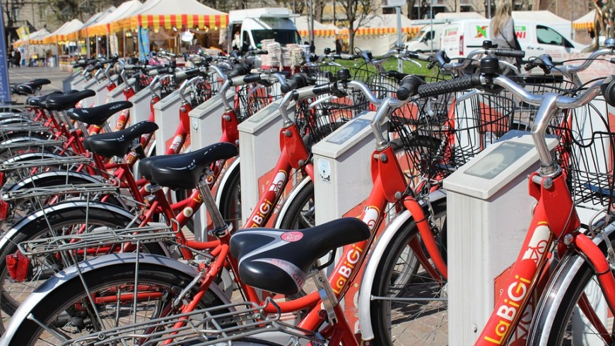 bike sharing to reduce air pollution