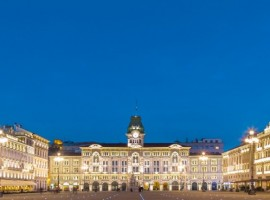 Trieste by night