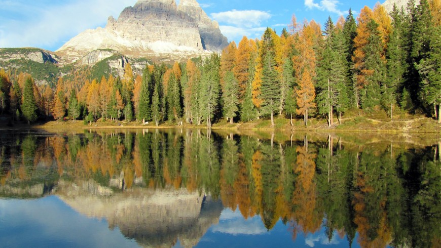 Fall in the Dolomites