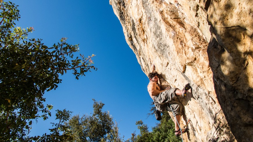Climbing to experience strong emotions