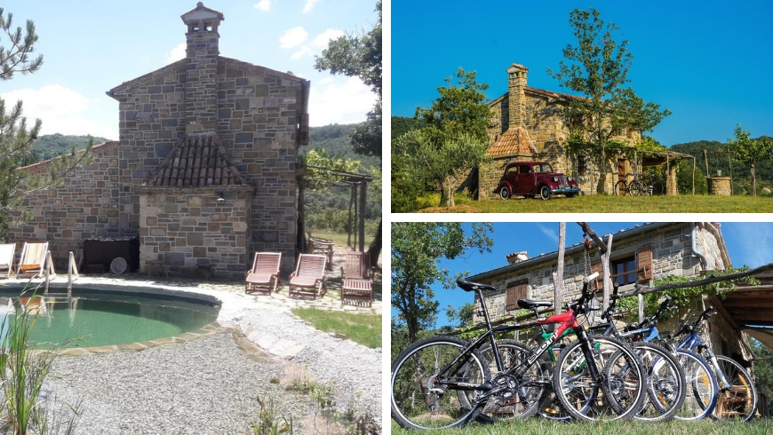 istria autentica, ecologic pool and bycicles