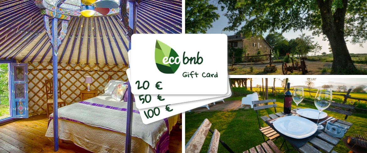 Gift Card: the new Ecobnb digital gift cards