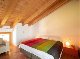 Room with wide bed and terrace
