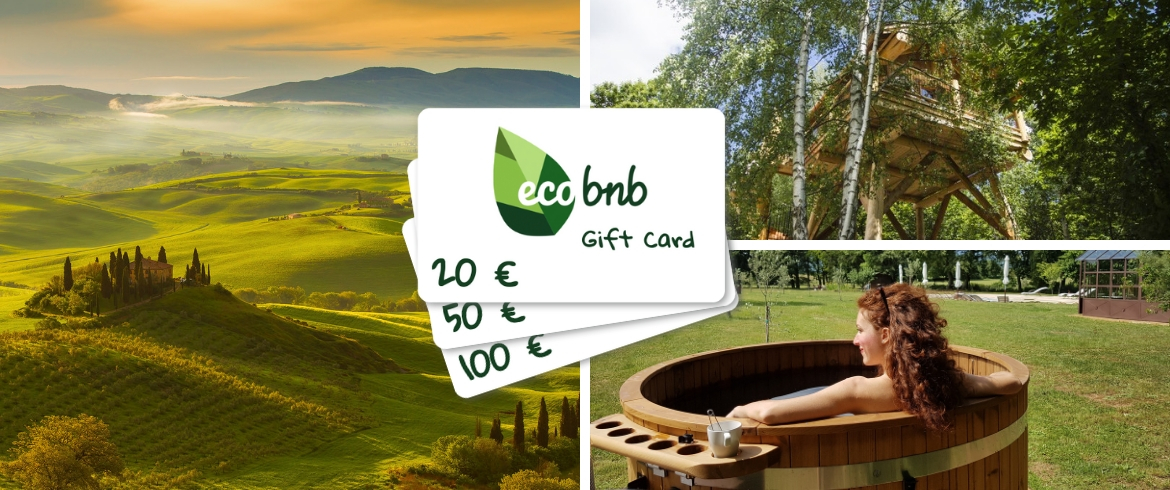 Give a Green Experience with the Ecobnb Gift Card