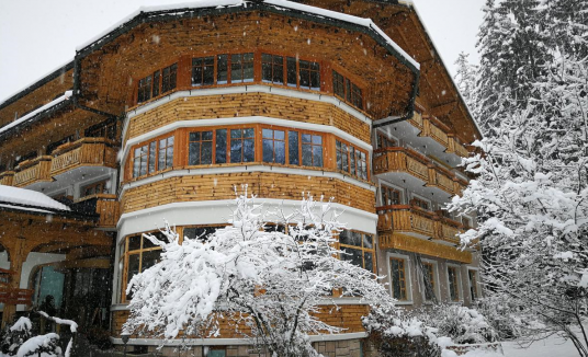 the hotel under the snow