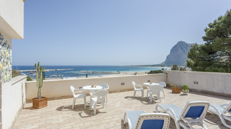 View from Hotel Auralba, Sicily