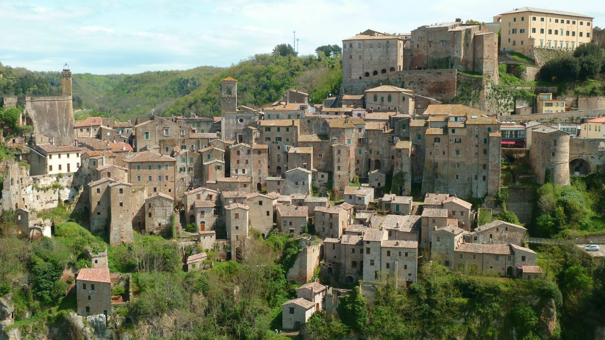 Sorano old village, Tuscany