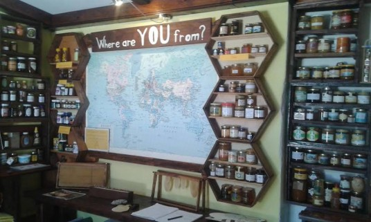 the largest collection of honey in the world